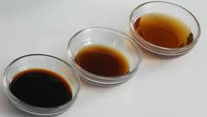 Tipos de salsa de soja